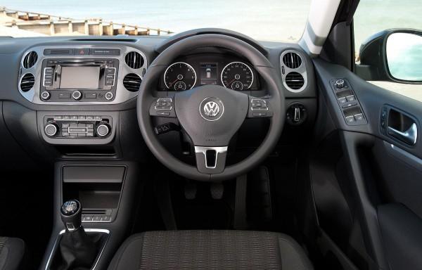 Volkswagen Tiguan SUV interior