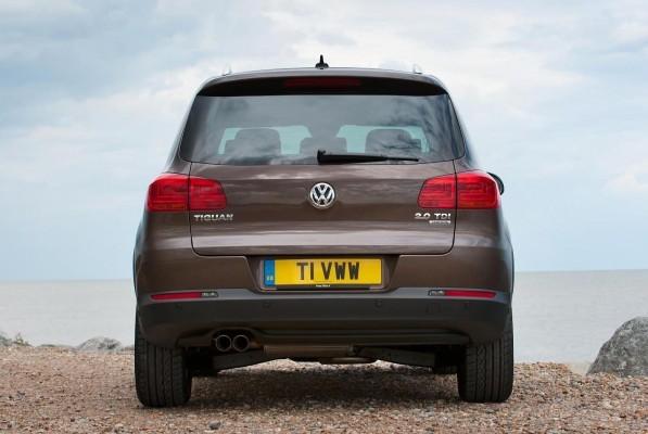 Volkswagen Tiguan SUV rear profile