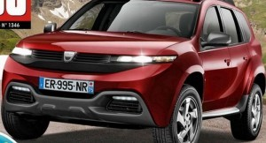 next generation Renault Duster Rendered