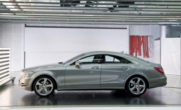 2014 Mercedes-Benz CLS 350 side profile