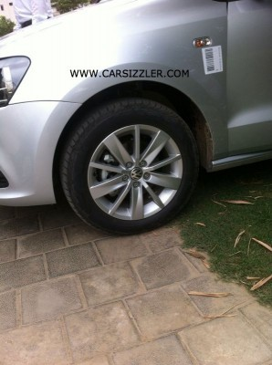 2014 Volkswagen Polo facelift alloy wheels