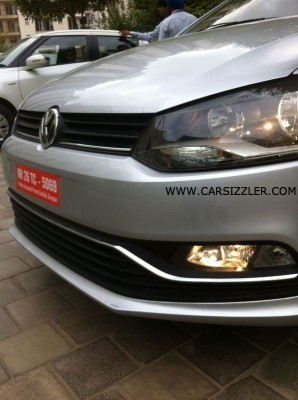 2014 Volkswagen Polo facelift smoked headlamps