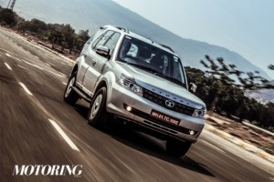 2015 Tata Safari Storme Front Side Profile Picture