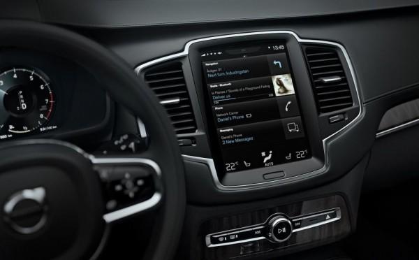 2015 Volvo XC90 interiors