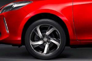 2017 Toyota Vios alloy wheels