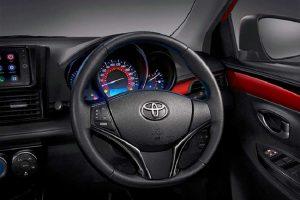 2017 Toyota Vios steering wheel