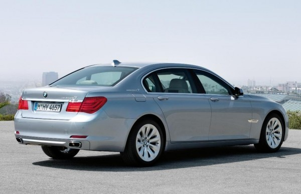 BMW 7-Series Active Hybrid rear