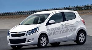 Chevrolet Amber based hatchback