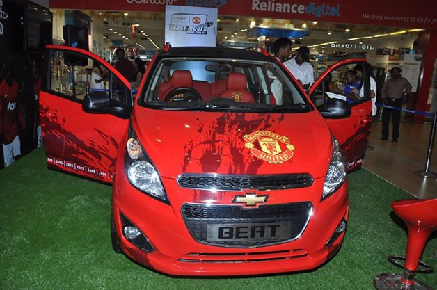 Chevrolet Beat Machester United Edition