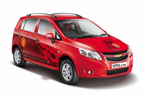 Chevrolet Sail U-VA Manchester United Editions