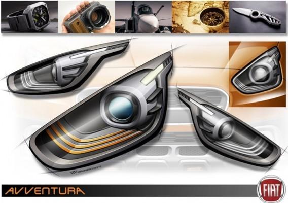 Fiat Avventura Crossover hatchback teased