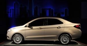 Ford Figo sedan side profile