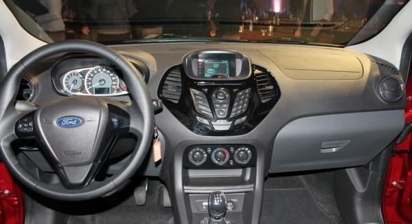 Ford Ka+ sedan interiors