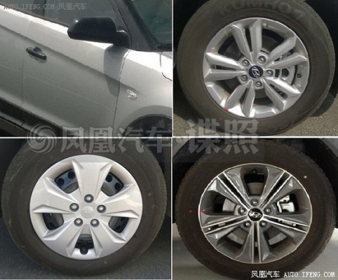 Hyundai ix25 alloy wheels