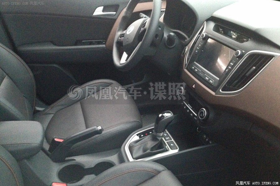 Hyundai Ix25 Compact Suv Spied Inside And Outside