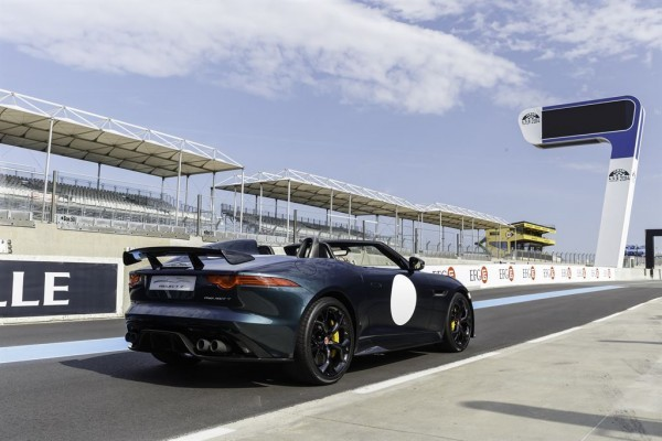 Jaguar F-Type Project 7 at Le Mans