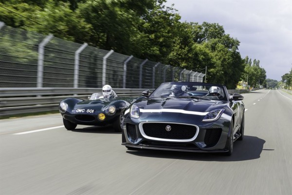 Jaguar F-Type Project 7 at Le Mans Classic