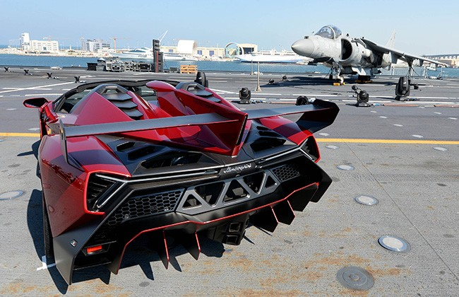 Lamborghini Veneno Roadster Is The World S Most Expensive Car