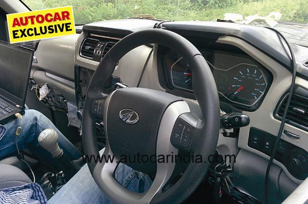 Mahindra Scorpio facelift interior