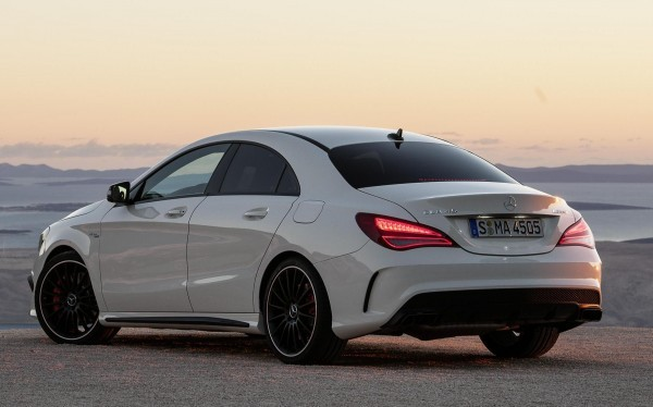 Mercedes-Benz CLA 45 AMG rear