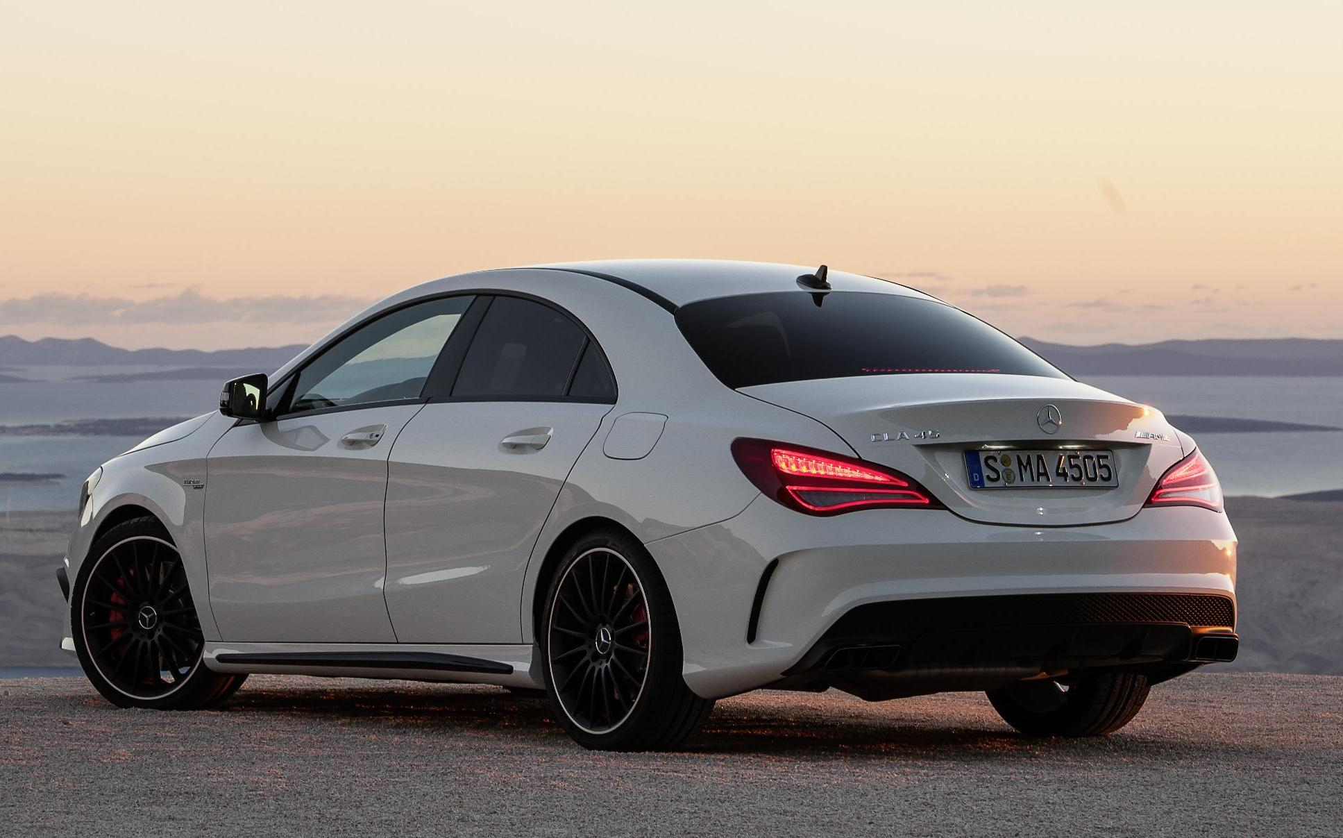 Mercedes Benz Has Already Updated Its Official Website With The CLA45 AMG  Which Was Unveiled At The 2014 Delhi Motor Show.