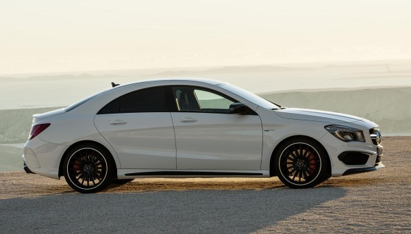 Mercedes-Benz CLA 45 AMG side