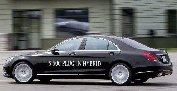 Mercedes S 500 Plug-in Hybrid side profile