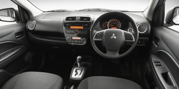 Mitsubishi Mirage sedan interiors