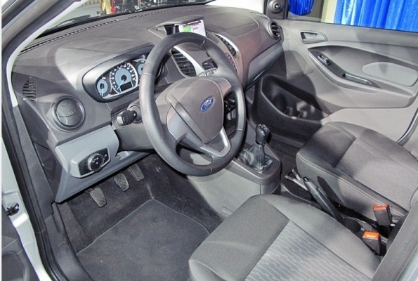 New Ford Figo interiors