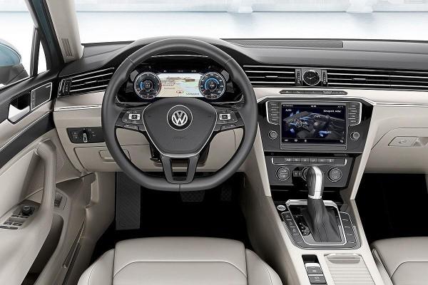 New Volkswagen Passat interiors