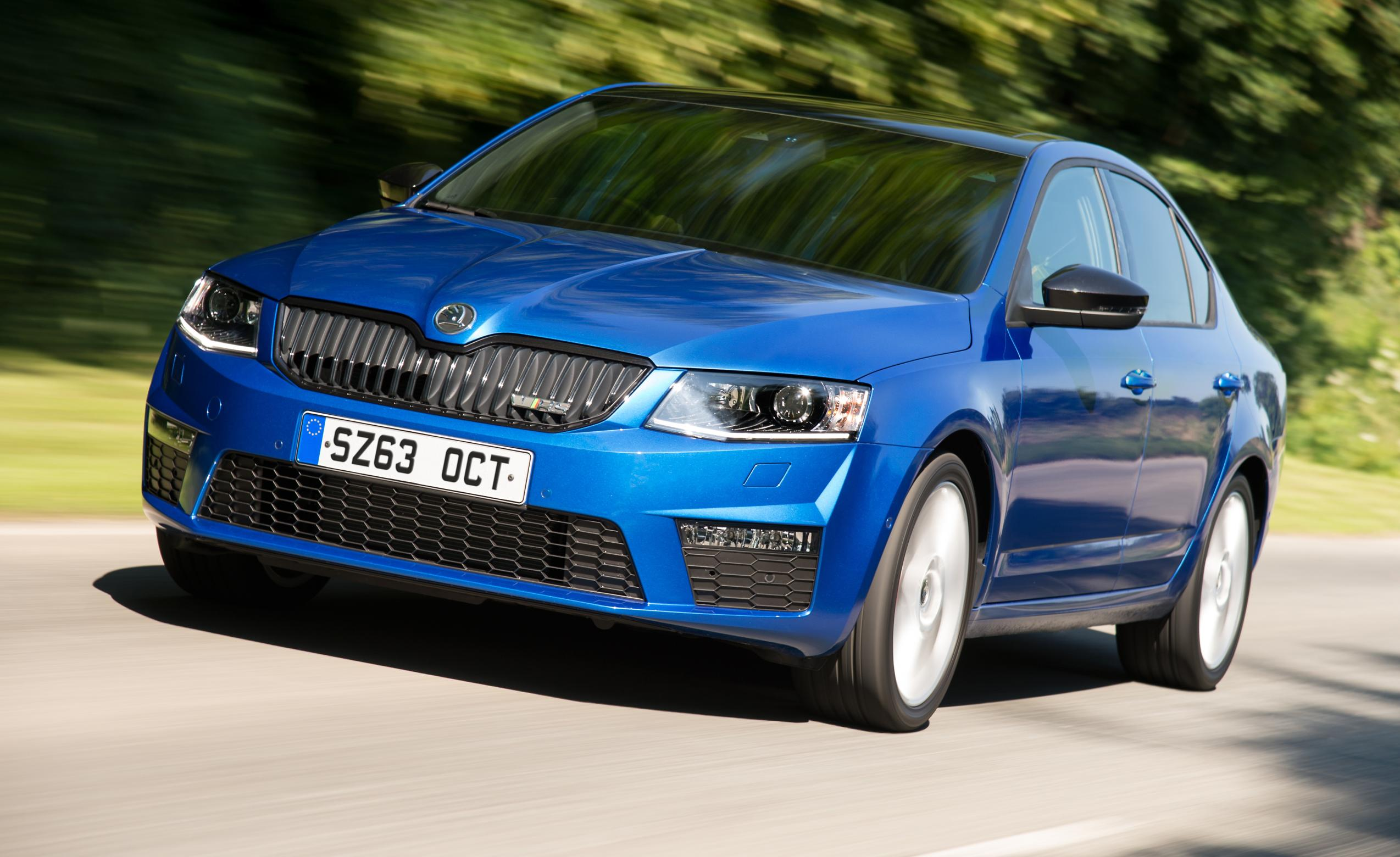 skoda octavia vrs india launch in august india car news. Black Bedroom Furniture Sets. Home Design Ideas