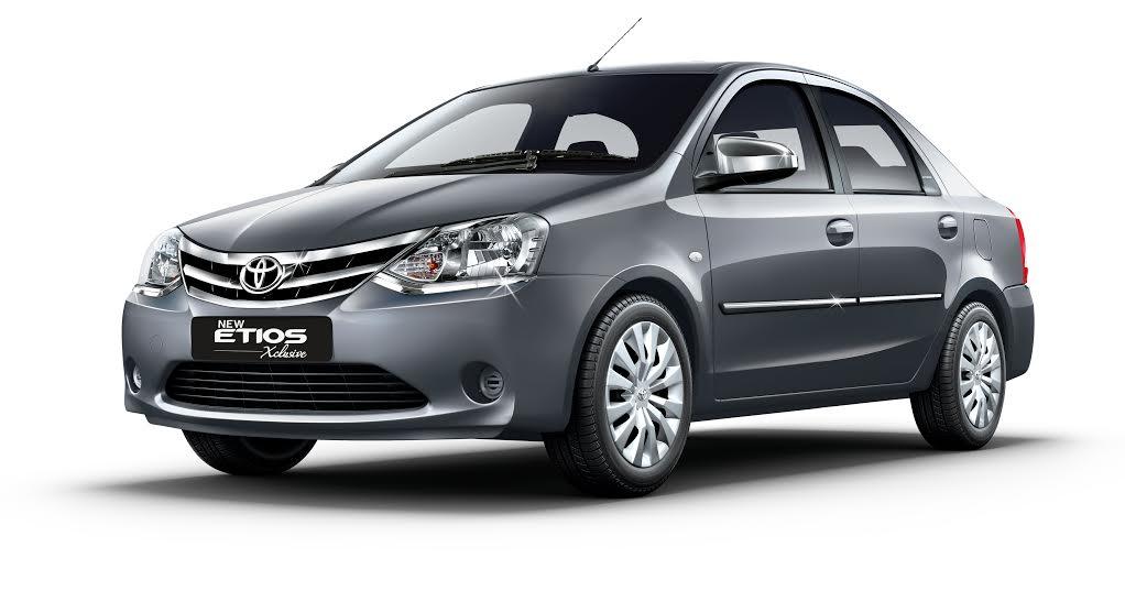 Toyota Etios Xclusive Edition
