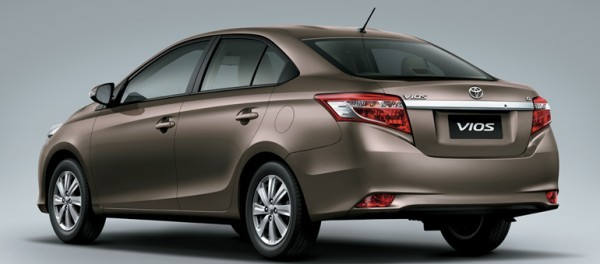 Toyota Vios sedan rear