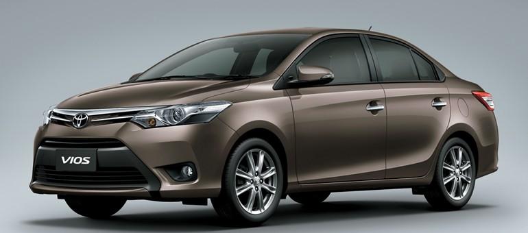 Toyota Vios India front