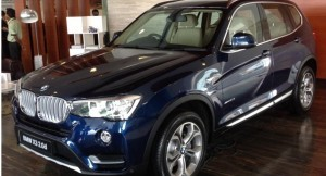 2015 BMW X3 facelift