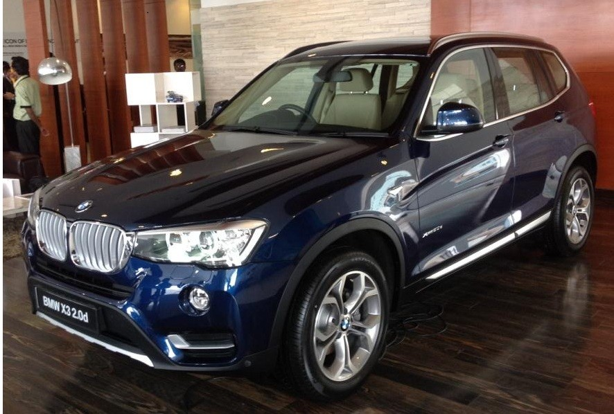 2015 Bmw X3 Facelift Launched Prices Start At Rs 44 90 Lakh