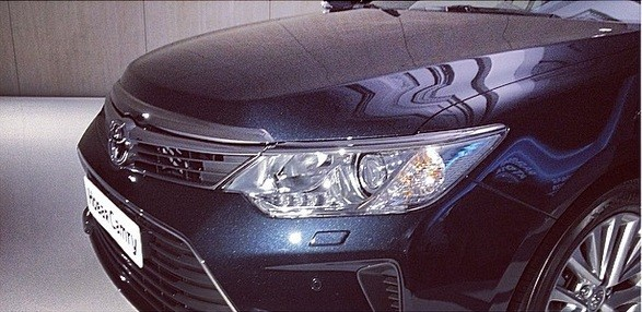 2015 Toyota Camry facelift headlamps