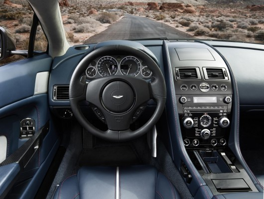 Aston Martin car interior