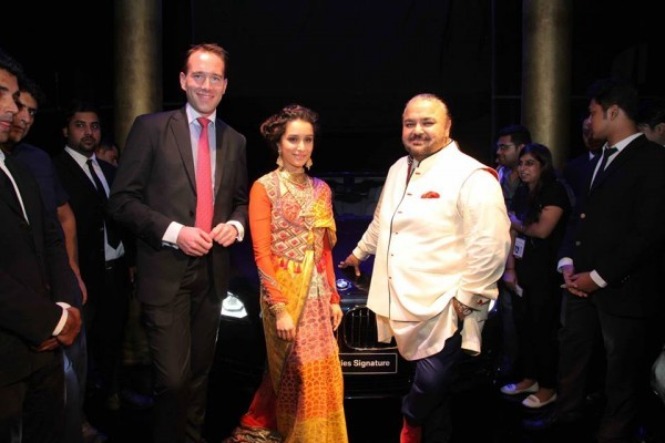 BMW 7 Series Signature with Shraddha Kapoor