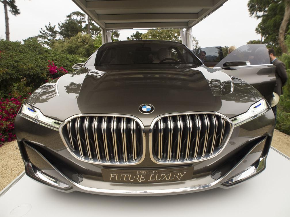 Bmw Vision Future Luxury Concept Front India Car News