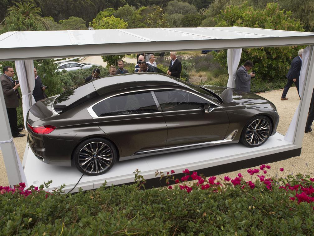 Bmw Vision Future Luxury Concept Unveiled At Pebble Beach