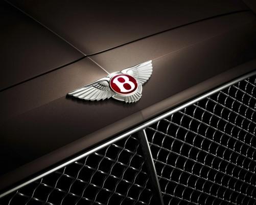 Bentley Flying Spur V8 Badge