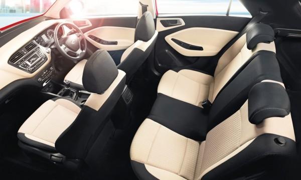 Hyundai Elite i20 dual tone interiors