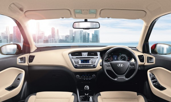 Hyundai Elite i20 new steering wheel