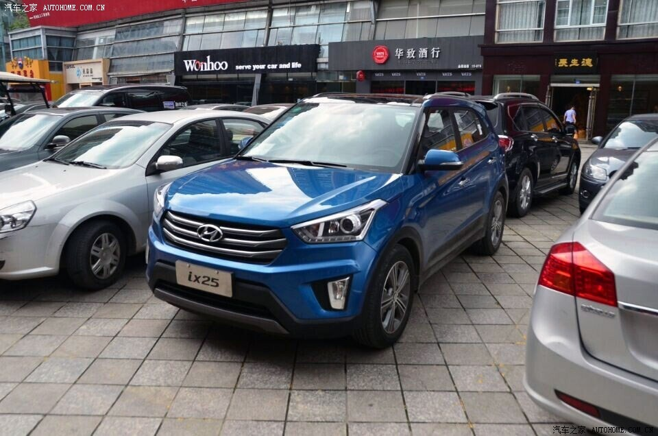 Hyundai ix25 Production Spec