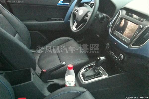 Hyundai ix25 Sport interior
