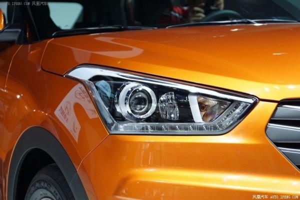 Hyundai ix25 headlamps