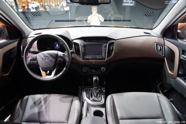 Hyundai ix25 interiors