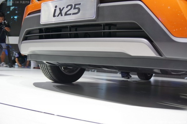 Hyundai ix25 skid guard