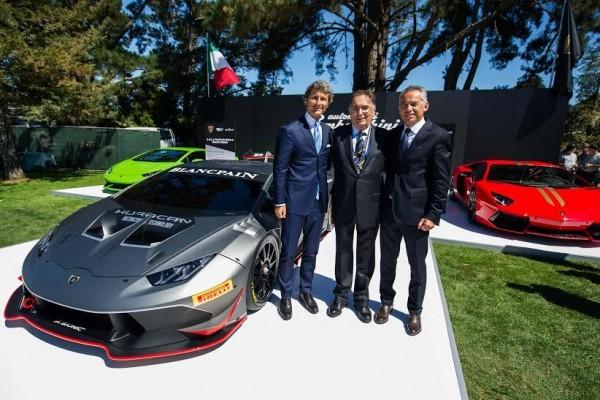 Lamborghini Huracan LP 620-2 Super Trofeo unveiled